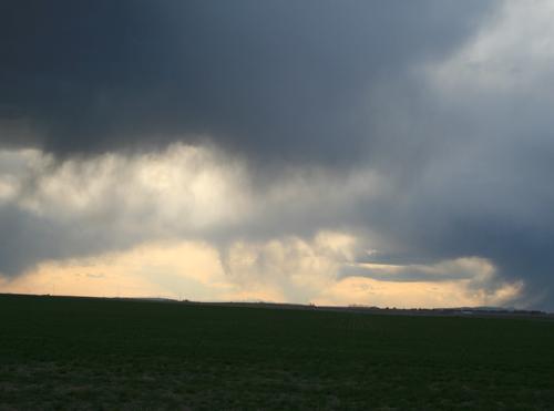 More clouds atsunset